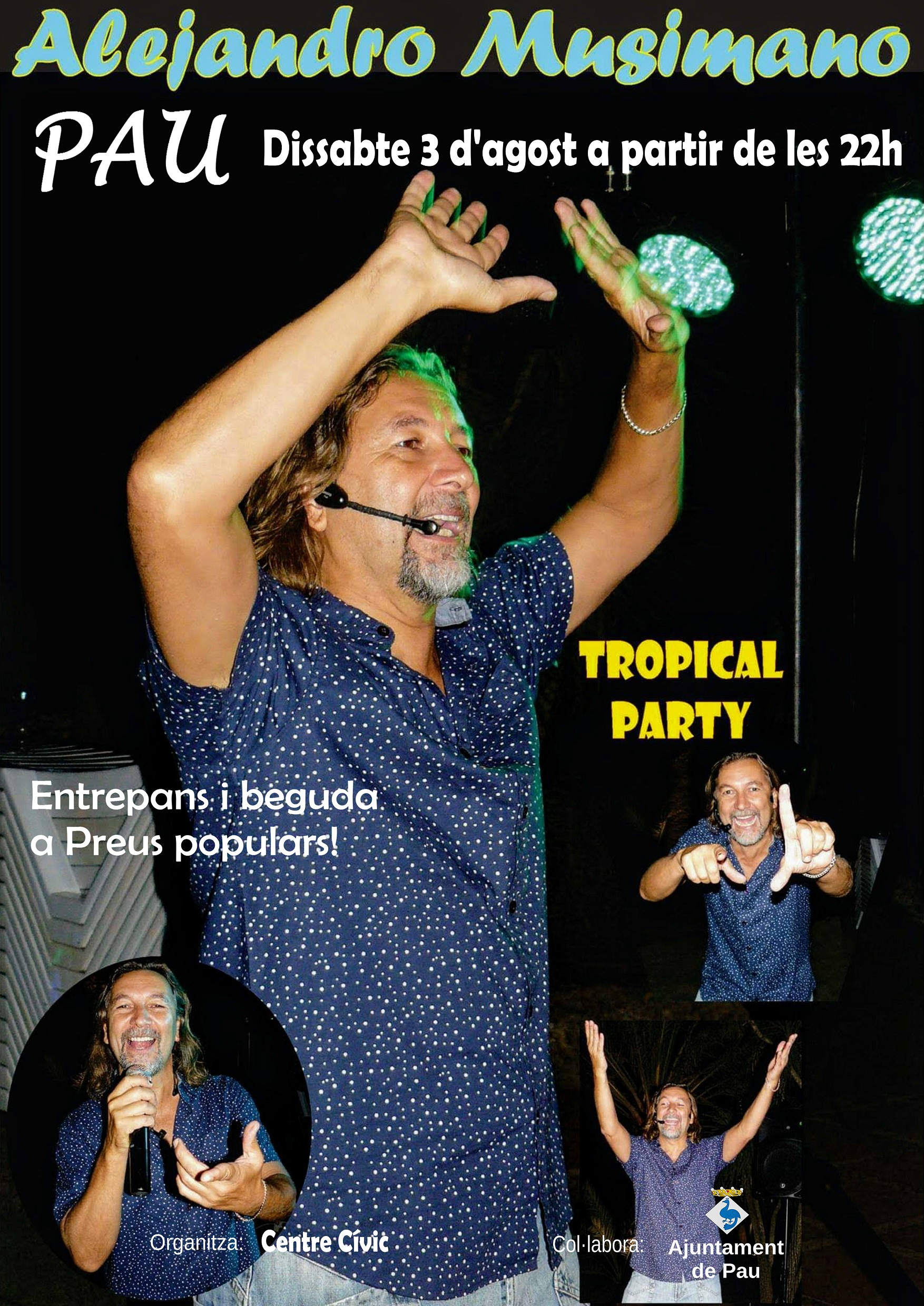 Cartell Tropical Party PAU_definitiu (002)
